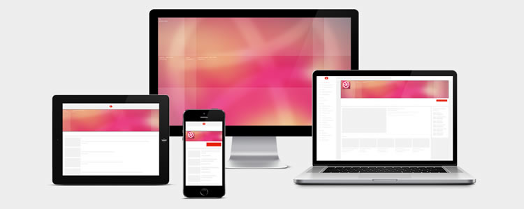 free resources for web designers YouTube Channel Responsive Template