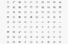 Compacticons - 180 крошечных PSD иконок