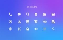 Набор простых иконок