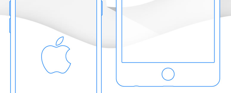 Freebie: iPhone 6 & Plus Wireframe Templates Sketch format