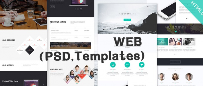 WEB (PSD,Templates)