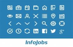 люкс иконки InfoJobs